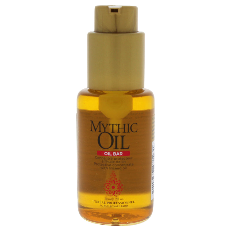 LOreal Professional Mythic Oil Bar Protective Concentrate with Linseed Oil