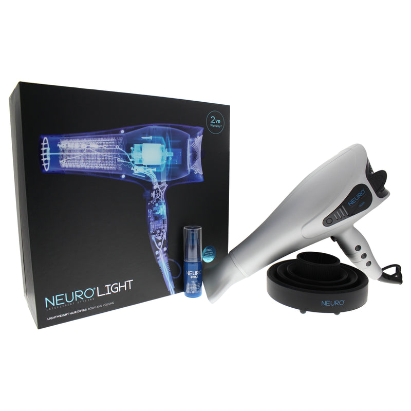 Paul Mitchell Neuro Light Hair Dryer   Model # NDLNAS   Silver