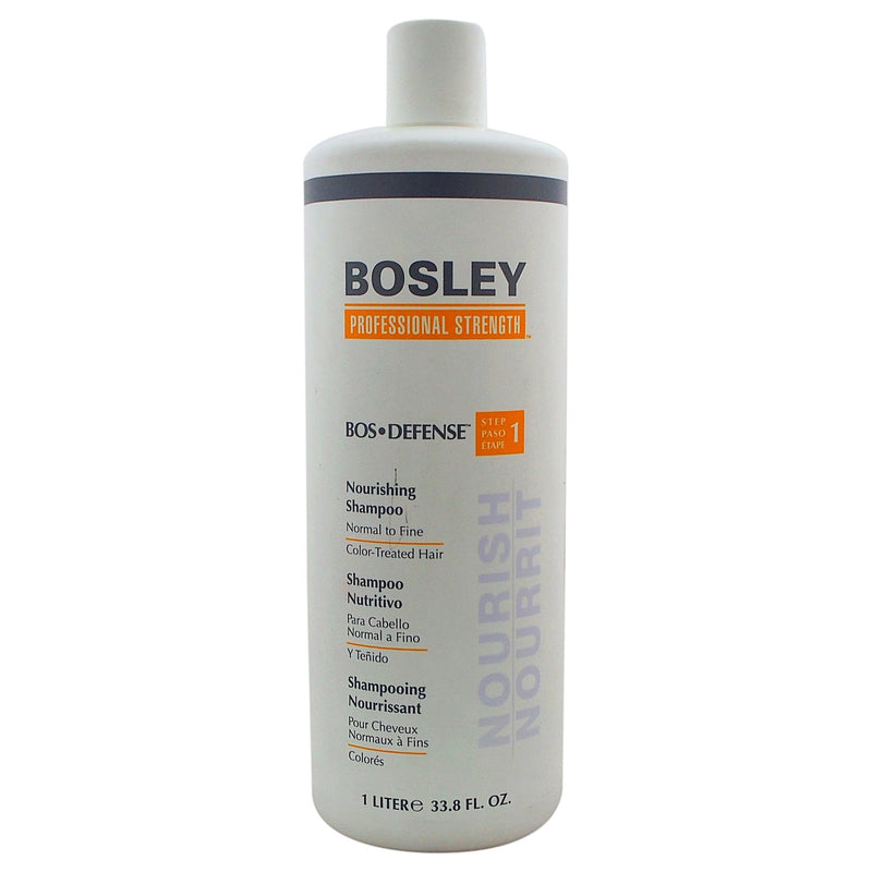 Bosley Bos Defense Nourishing Shampoo for Normal To Fine Color Treated Hair