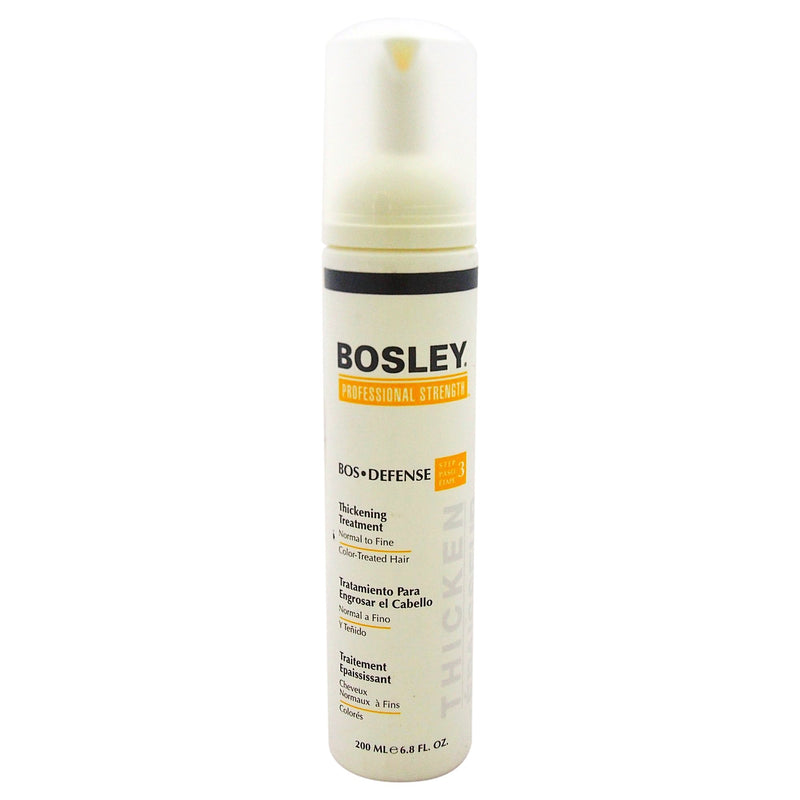 Bosley Bos Defense Thickening Treatment for Normal To Fine Color Treated Hair