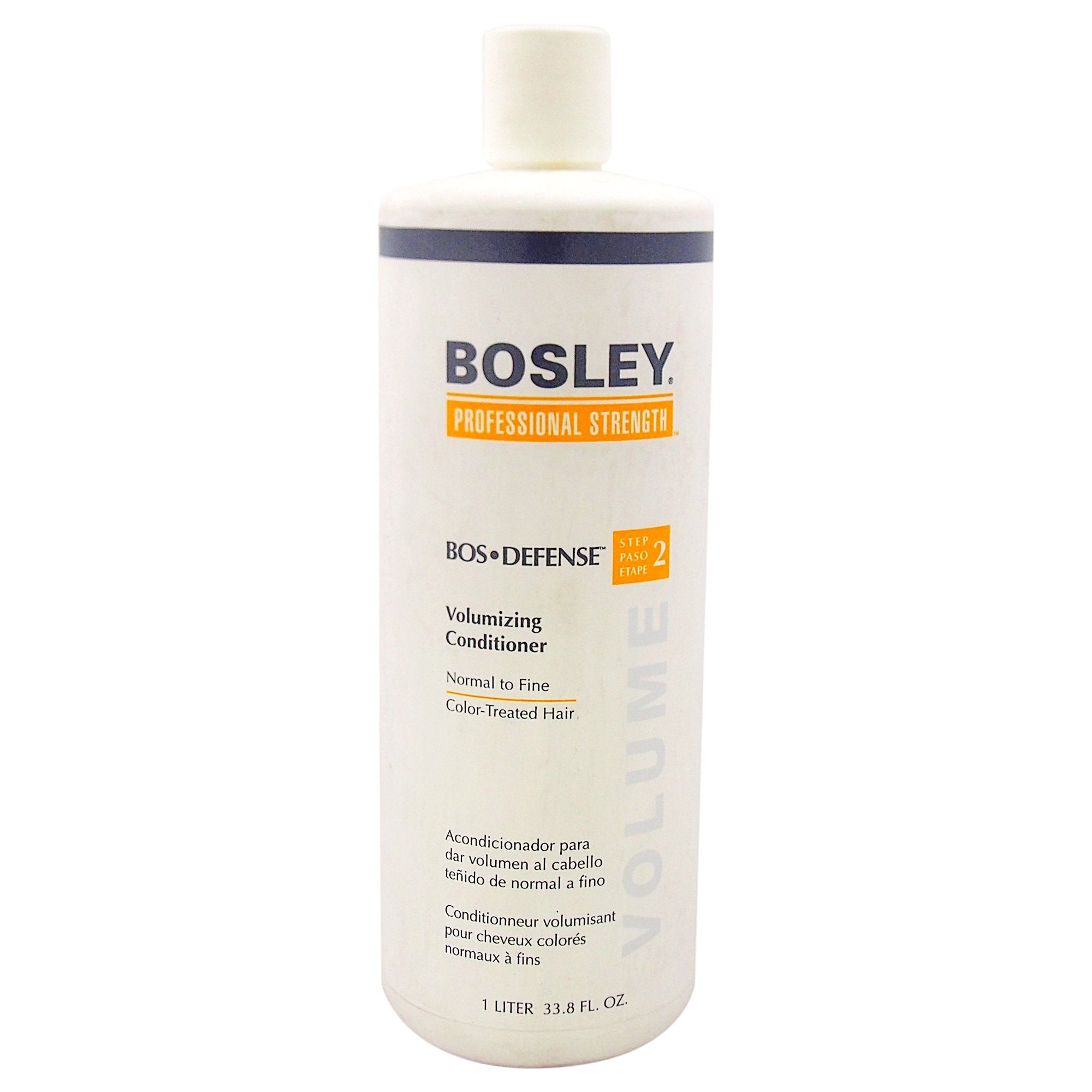 Bosley Bos Defense Volumizing Conditioner for Normal To Fine Color Treated Hair