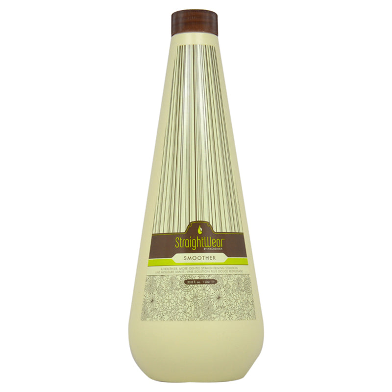 Macadamia Oil Natural Oil Straightwear Smoother Straightening Solution