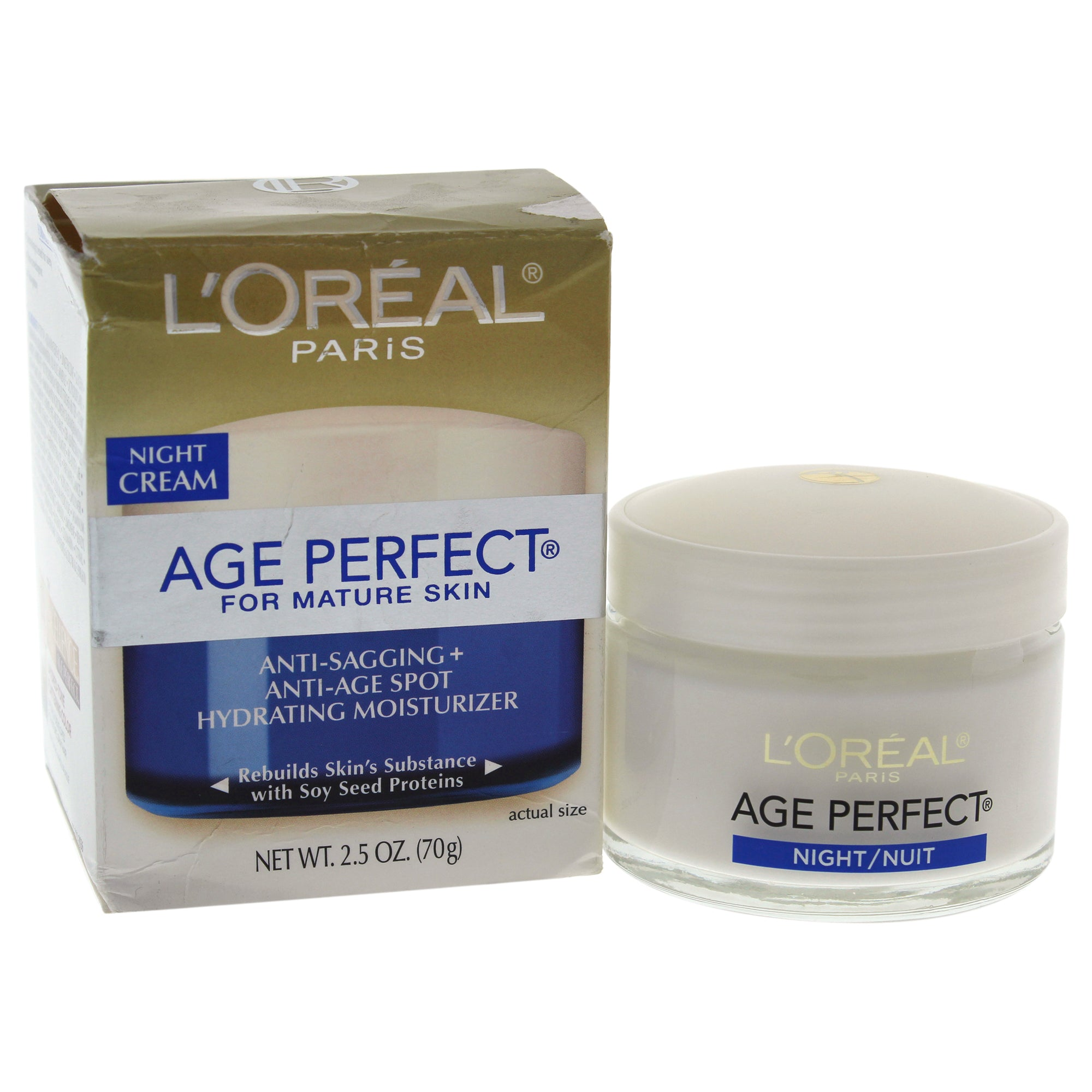 LOreal Paris Age Perfect Anti Sagging Anti Age Spot Hydrating Moisturizer