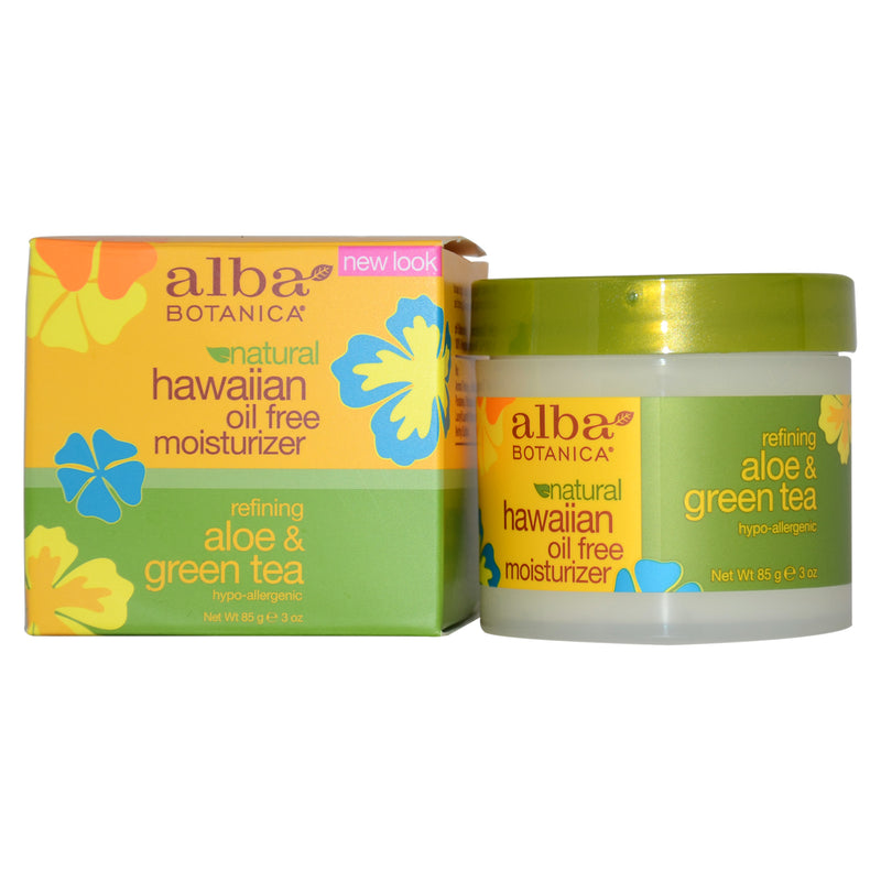 Alba Botanica Hawaiian Green Tea Oil Free Moisturizer