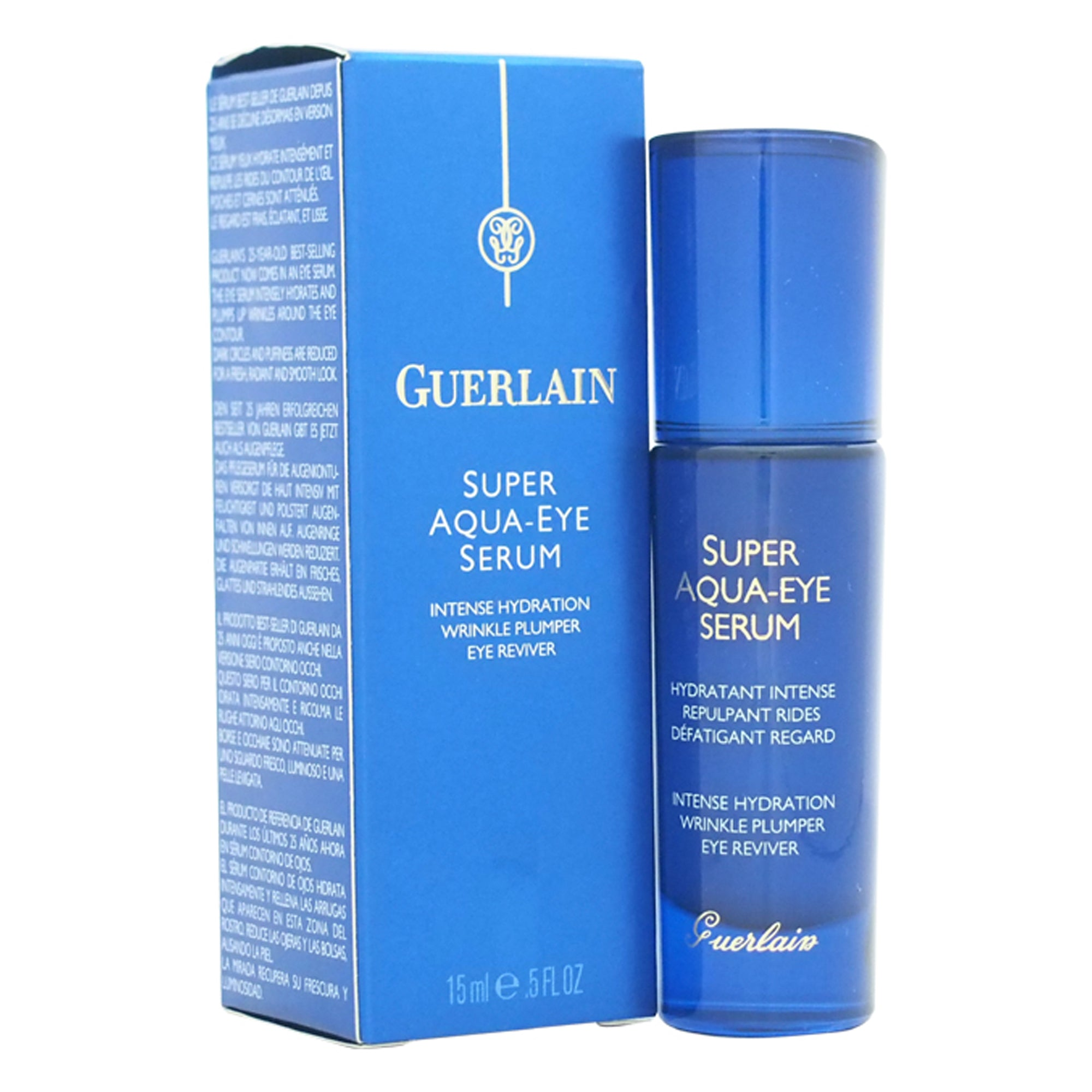 Guerlain Super Aqua Eye Serum Intense Hydration Wrinkle Plumper
