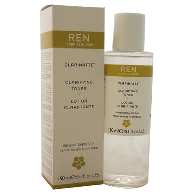 Clarimatte Clarifying Toner Combination To Oily Skin by REN for Unisex 5.1oz