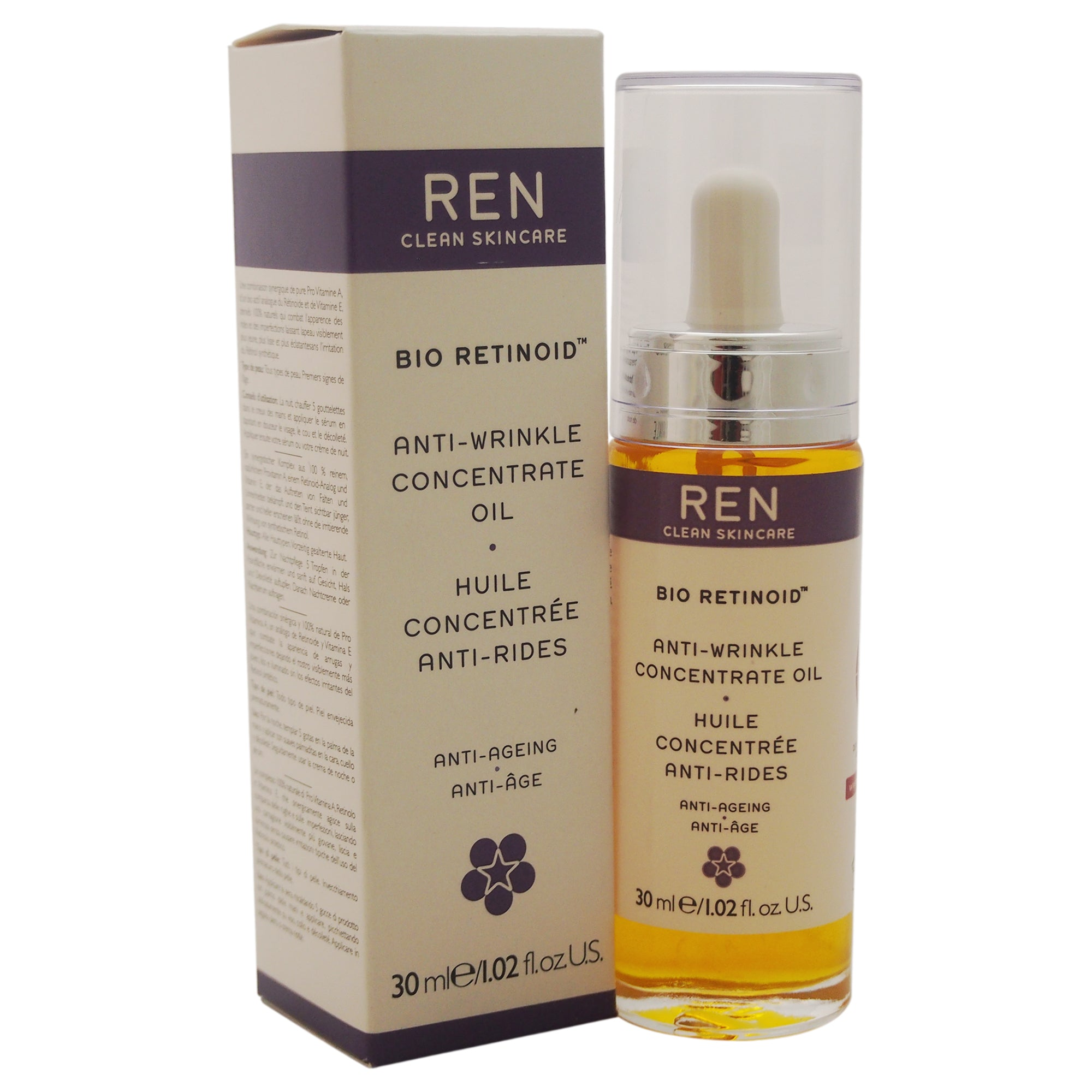REN Bio Retinoid Wrinkle Concentrate Oil