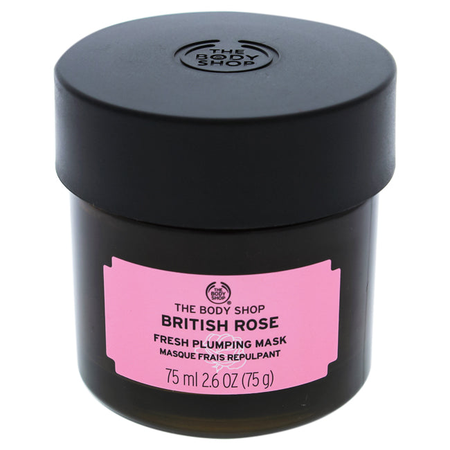British Rose Fresh Plumping Mask by The Body Shop for Unisex 2.6oz
