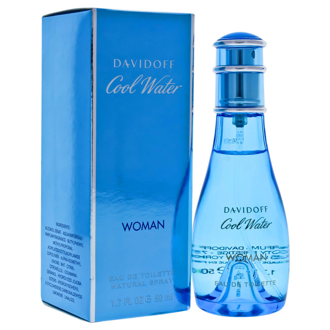 Cool Water by Zino Davidoff EDT Spray for Women 1.7oz