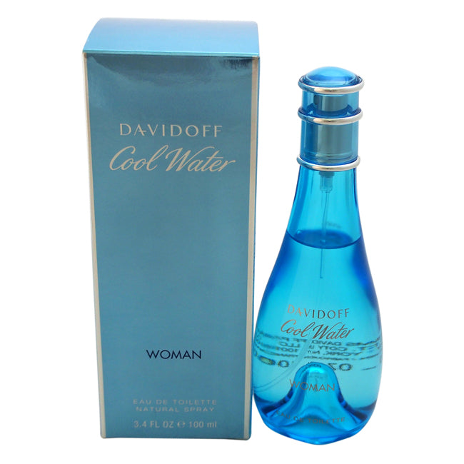 Cool Water by Zino Davidoff EDT Spray for Women 3.4oz