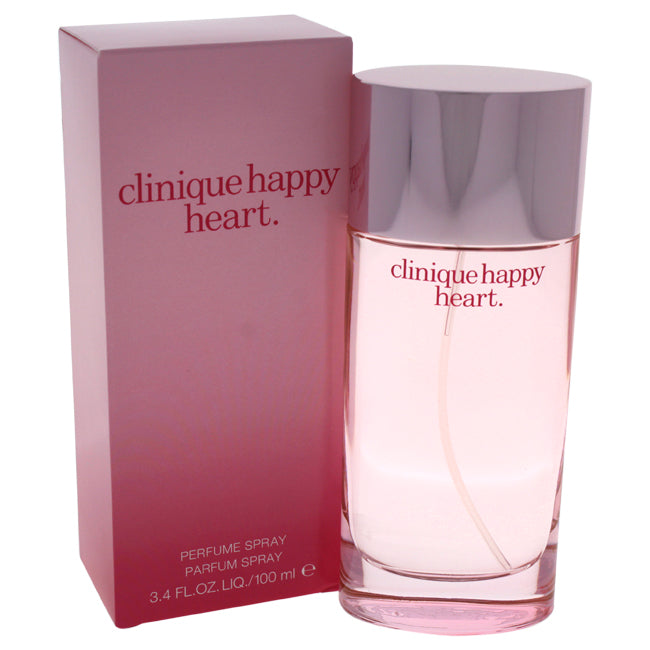 Happy Heart by Clinique Parfum Spray for Women 3.4oz