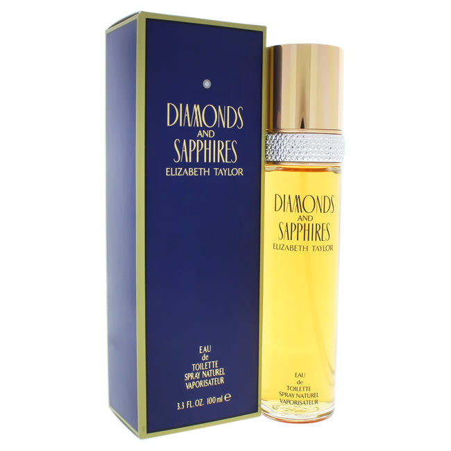Diamonds and Sapphires by Elizabeth Taylor EDT Spray for Women 3.3oz