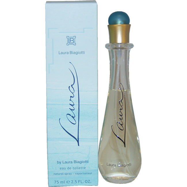 Laura by Laura Biagiotti EDT Spray for Women 2.5oz