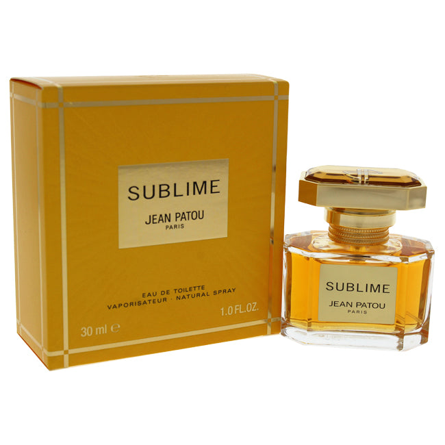 Sublime by Jean Patou EDT Spray for Women 1oz