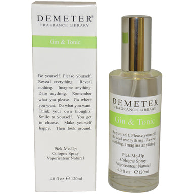 Gin and Tonic by Demeter Cologne Spray for Women 4oz