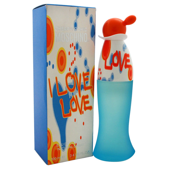 I Love Love Cheap And Chic by Moschino EDT Spray for Women 3.4oz