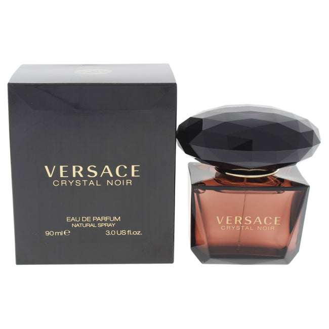 Versace Crystal Noir by Versace for Women - 3 oz EDP Spray