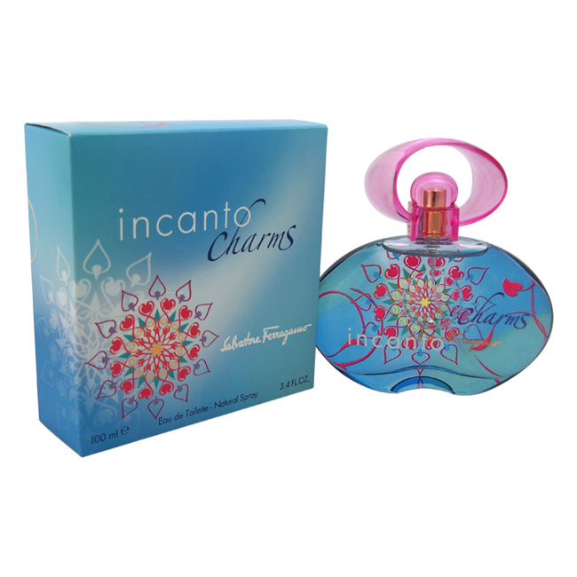 Incanto Charms by Salvatore Ferragamo EDT Spray for Women 3.4oz