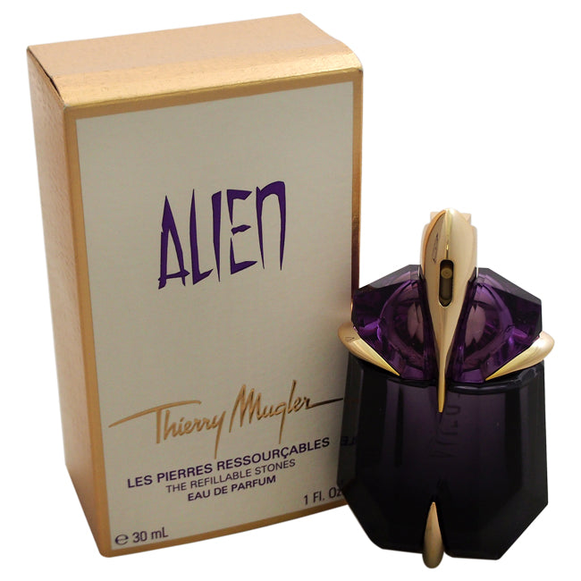 Alien Refillable by Thierry Mugler EDP Spray for Women 1oz