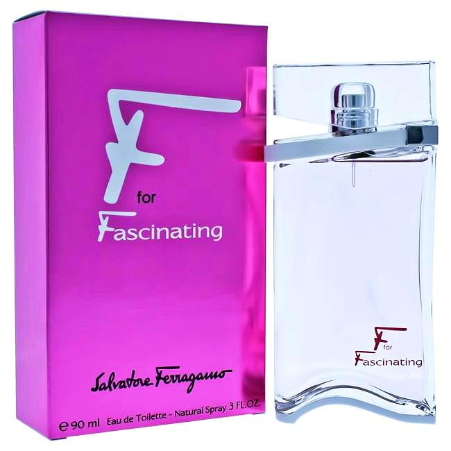 F For Fascinating by Salvatore Ferragamo for Women