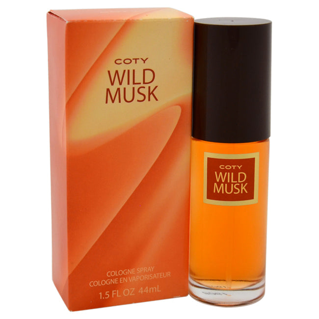 Wild Musk by Coty Cologne Spray for Women 1.5oz