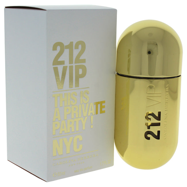 212 VIP by Carolina Herrera for Women - 1.7 oz EDP Spray