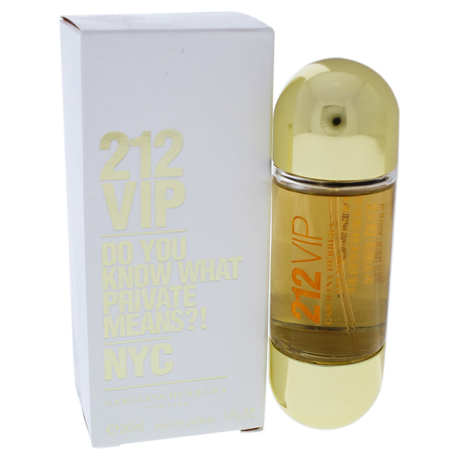 212 VIP Do you Know What Private Means? by Carolina Herrera EDP Spray for Women 1oz