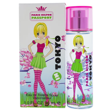 Passport Tokyo by Paris Hilton EDT Spray for Women 1oz
