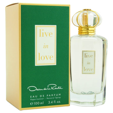 Live In Love by Oscar De La Renta EDP Spray for Women 3.4oz