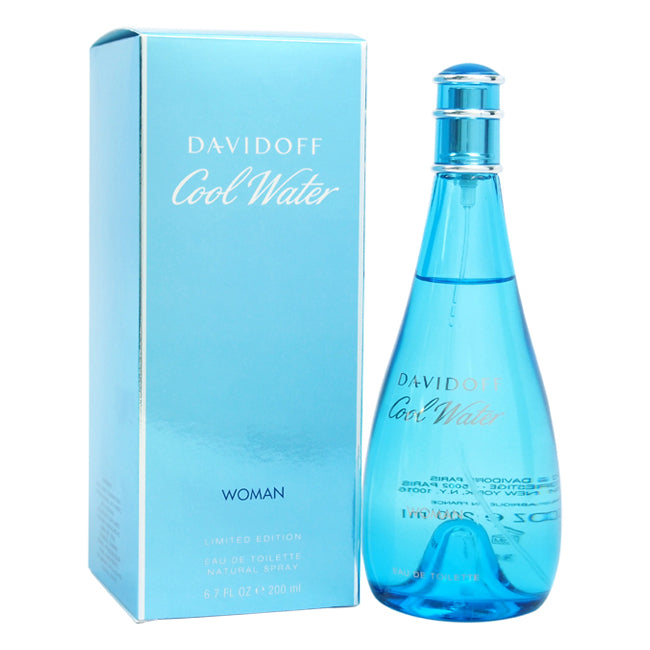 Cool Water by Zino Davidoff EDT Spray for Women 6.7oz