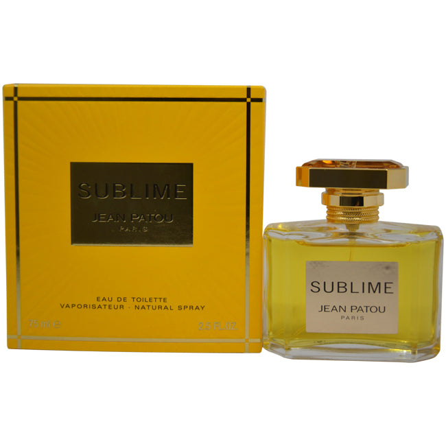 Sublime by Jean Patou EDT Spray for Women 2.5oz