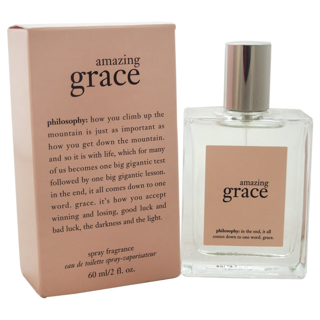 Amazing Grace by Philosophy EDT Spray for Women 2oz