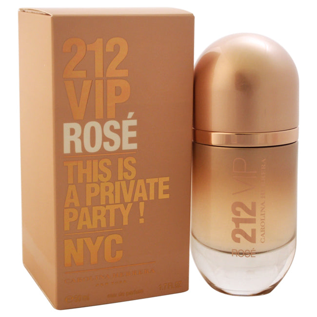 212 VIP Rose This is a Private Party! by Carolina Herrera EDP Spray for Women 1.7oz