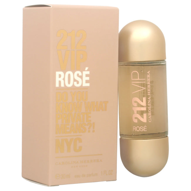 212 VIP Rose by Carolina Herrera for Women - 1 oz EDP Spray