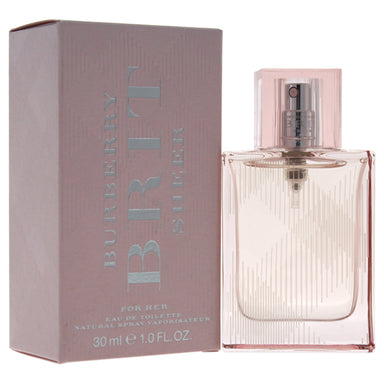 Brit Sheer by Burberry EDT Spray for Women 1oz