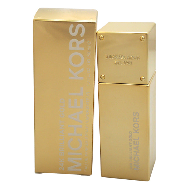 24K Brilliant Gold by Michael Kors EDP Spray for Women 1.7oz