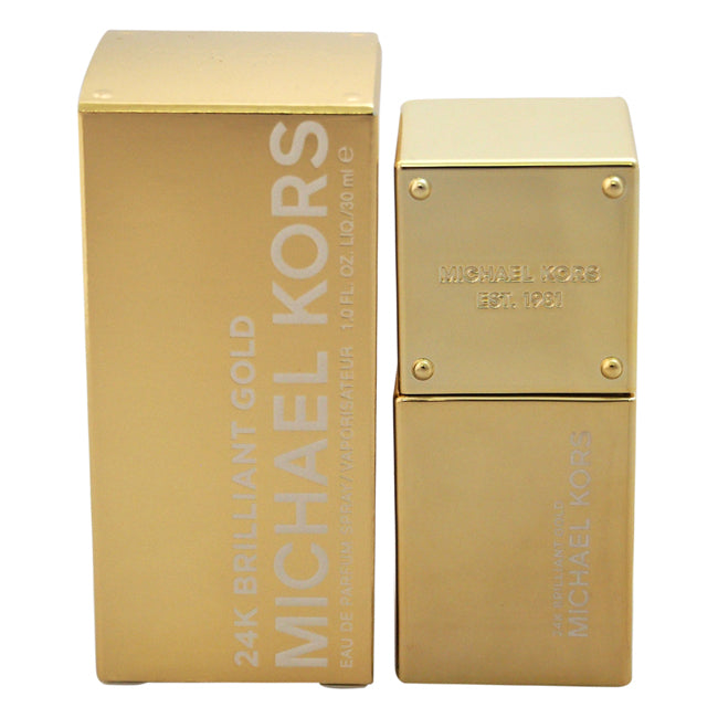 24K Brilliant Gold by Michael Kors for Women - 1 oz EDP Spray