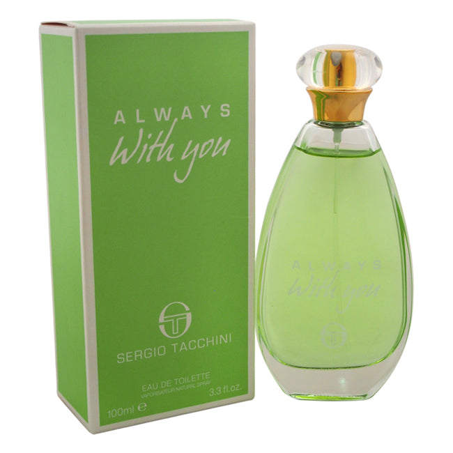 Always With You by Sergio Tacchini EDT Spray for Women 3.3oz