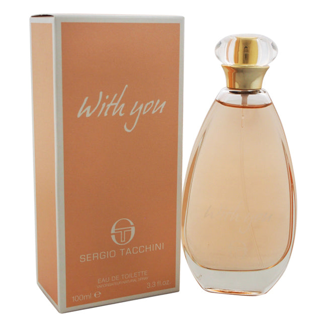 With You by Sergio Tacchini EDT Spray for Women 3.3oz