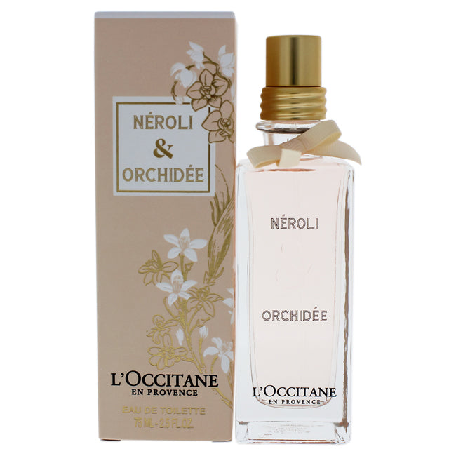 Neroli and Orchidee by LOccitane for Women - 2.5 oz EDT Spray