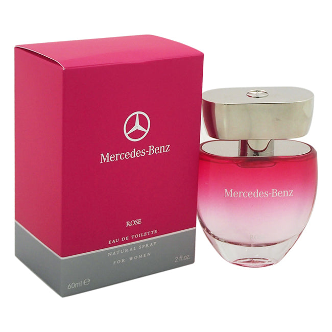 Rose by Mercedes-Benz EDT Spray for Women 2oz