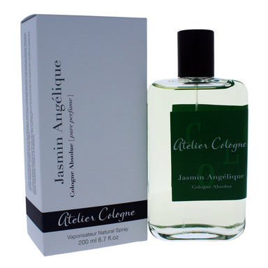 Jasmin Angelique Cologne Absolue by Atelier Cologne for Women 6.7oz