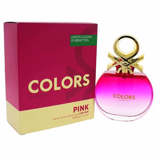 Colors Pink by United Colors of Benetton for Women