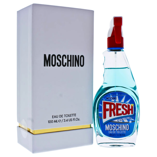 Fresh Couture by Moschino EDT Spray for Women 3.4oz