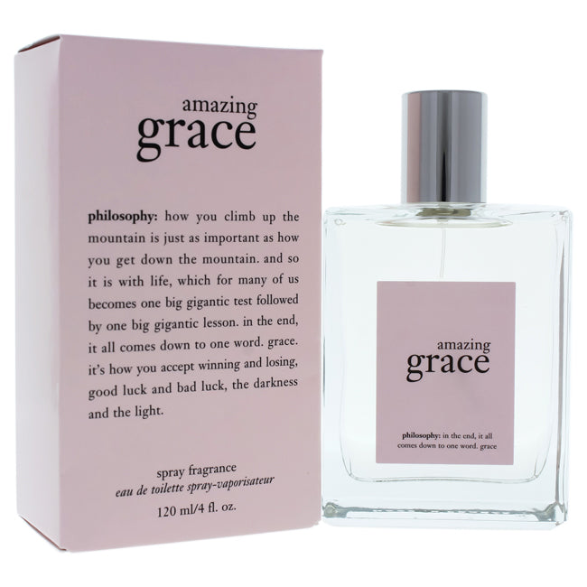 Amazing Grace by Philosophy EDT Spray for Women 4oz