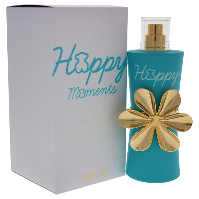 Happy Moments by Tous EDT Spray for Women 3oz