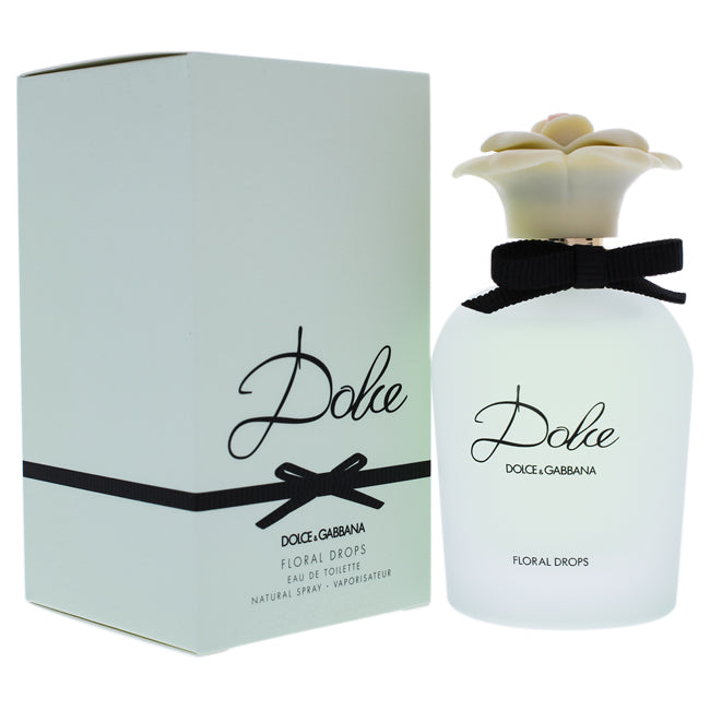 Dolce Floral Drops by Dolce and Gabbana EDT Spray for Women 1.6oz