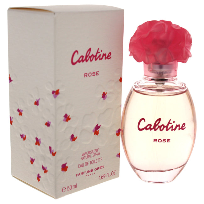 Cabotine Rose by Gres EDT Spray for Women 1.69oz