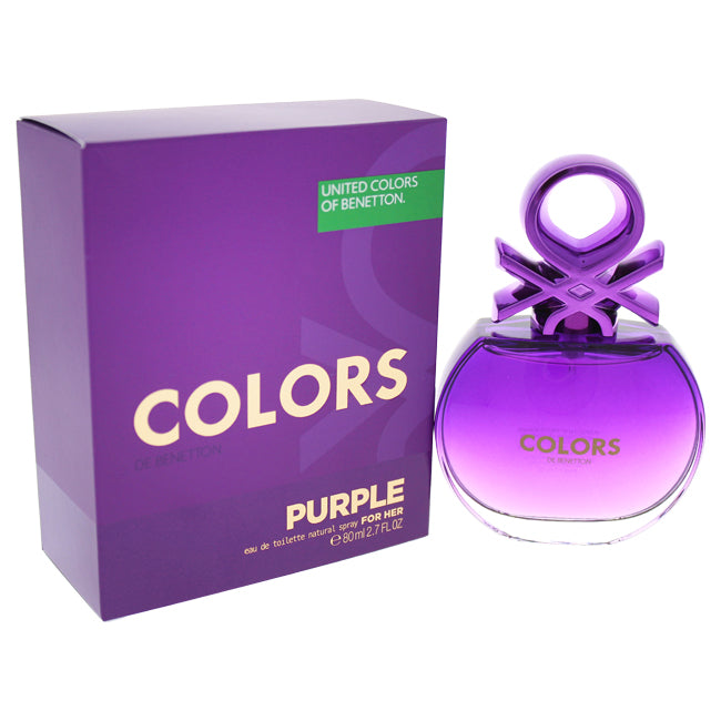 Colors Purple by United Colors of Benetton for Women