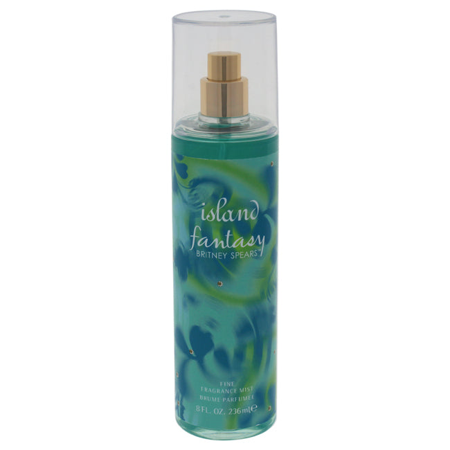 Island Fantasy Fine Fragrance Mist by Britney Spears for Women 8oz
